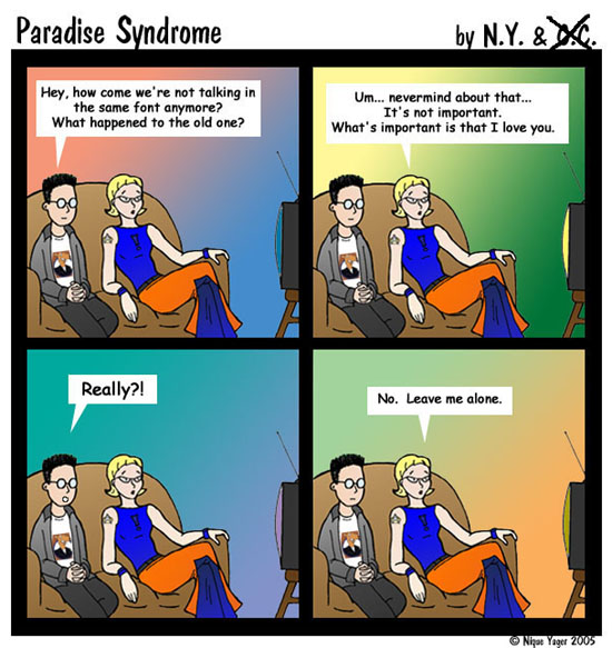 Paradise Syndrome #5